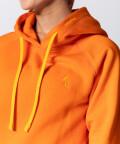 Women's Neon Orange Vibrant Hoodie 3
