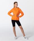 Women's Neon Orange Vibrant Hoodie 4