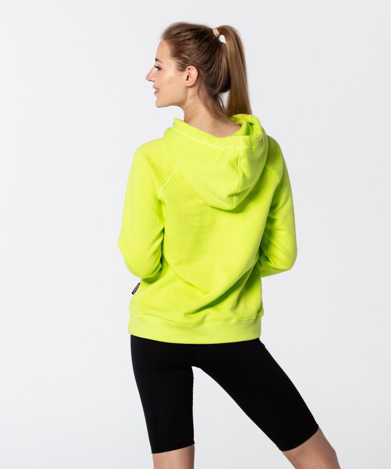 Dámská Neonová Zelená Vibrant Mikina 2