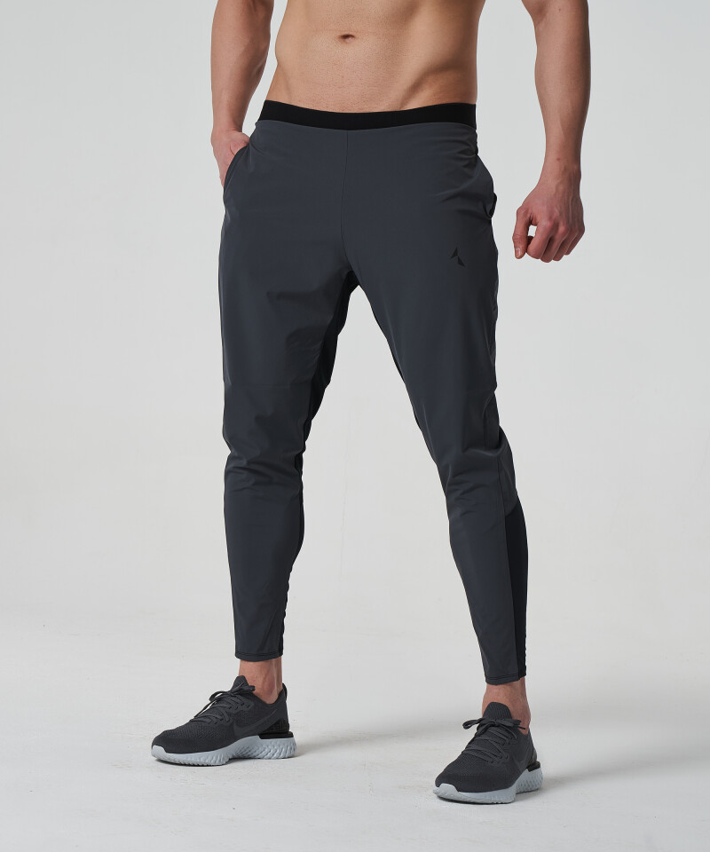 Men's Grey & Black Stellar Joggers 1