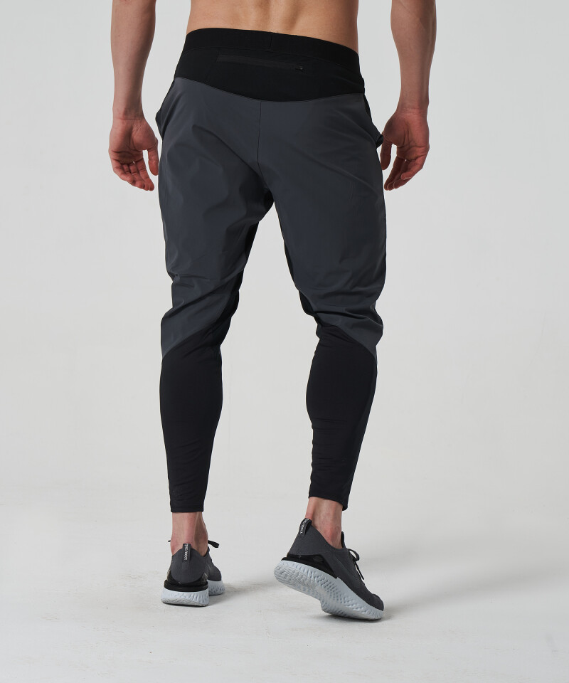 Men's Grey & Black Stellar Joggers 2