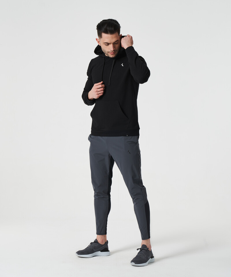 Men's Grey & Black Stellar Joggers 4