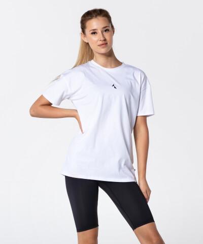Women's White Boyfriend T-shirt