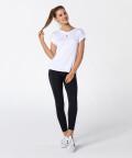 Weißes Damen T-Shirt Roll Up 4