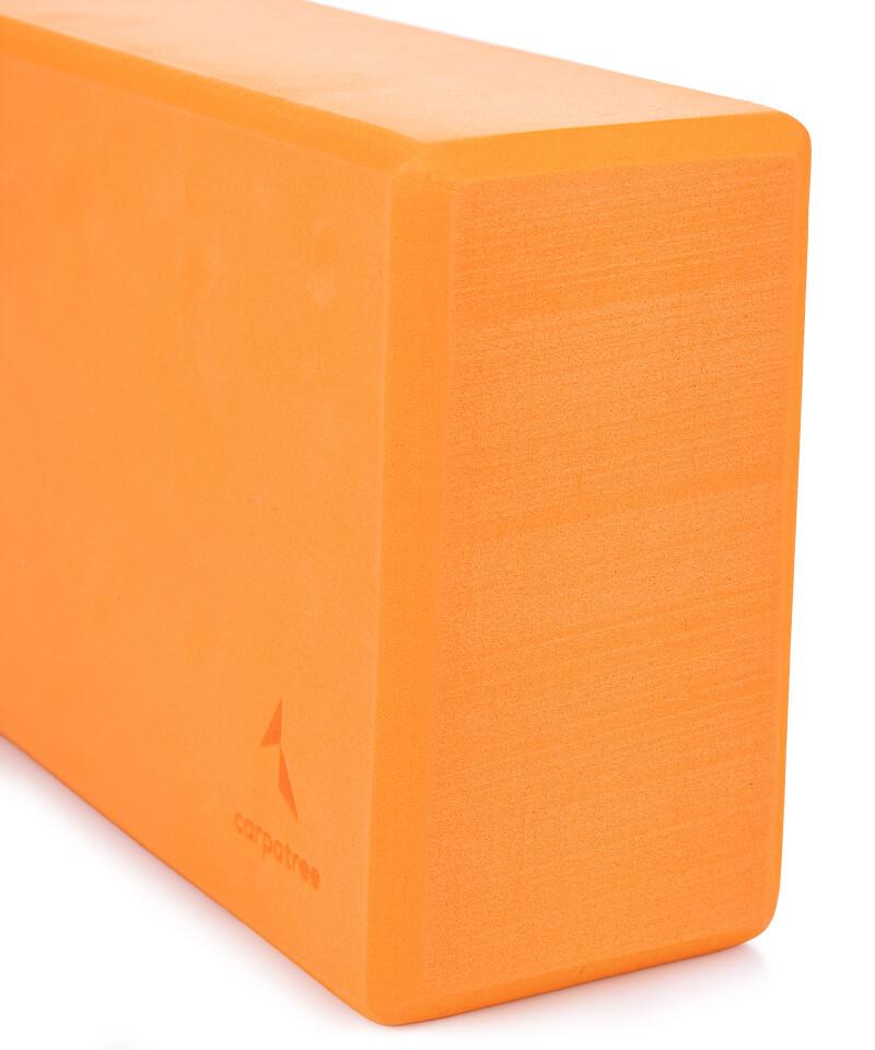 Pomarańczowy blok do jogi 1