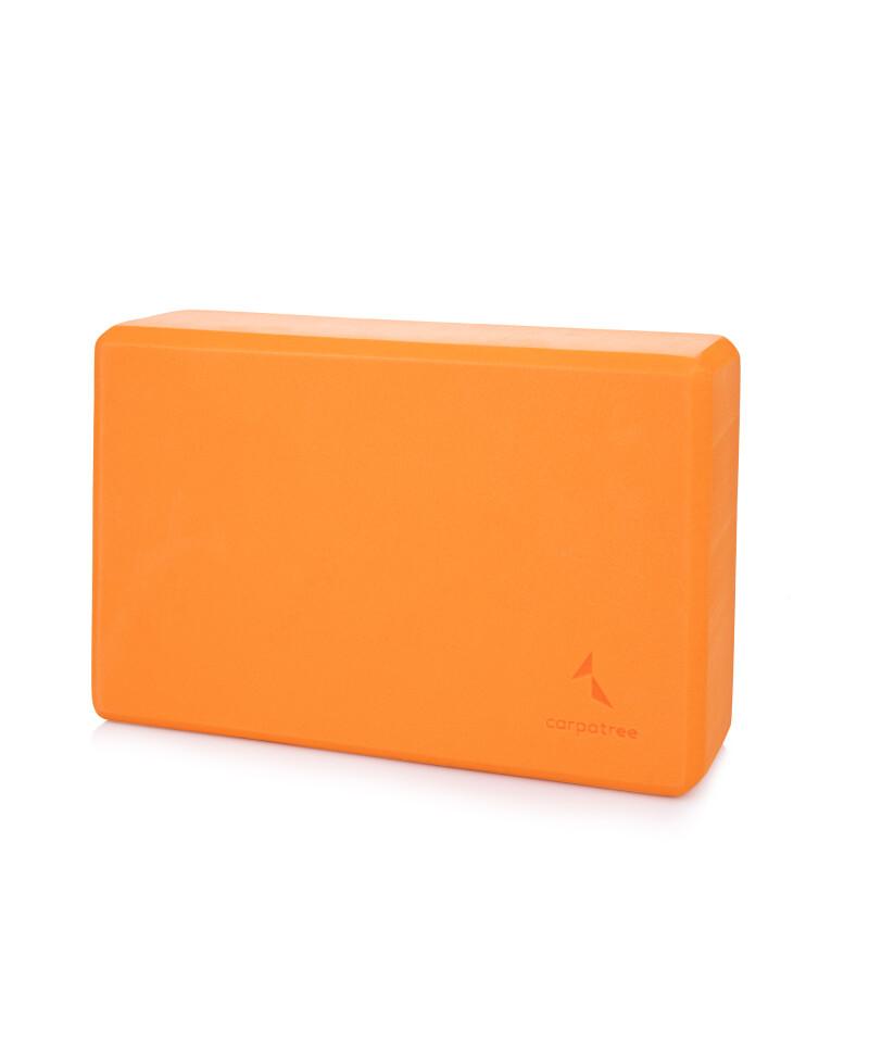 Pomarańczowy blok do jogi 2