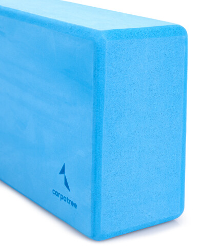 Blauer Yoga Block 1