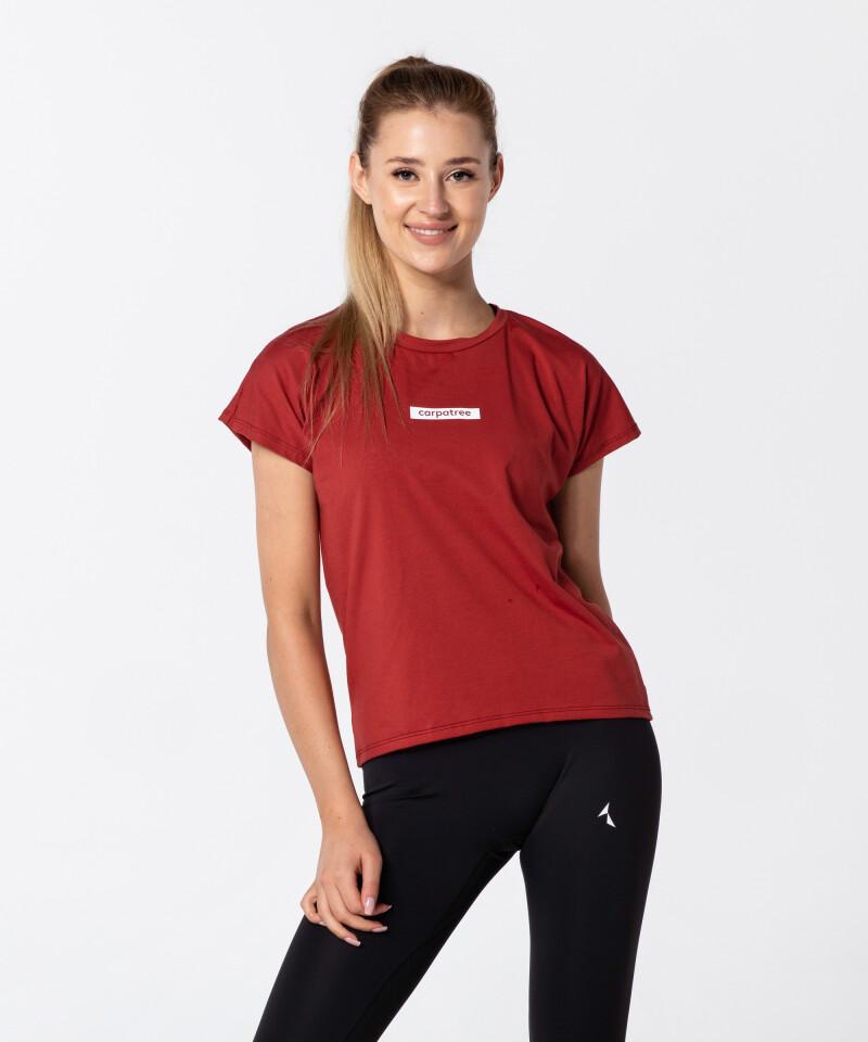 Красная футболка Symmetry