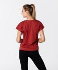 Кирпично-красная футболка Symmetry