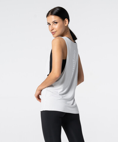 Light Grey Deep Tank-top 2