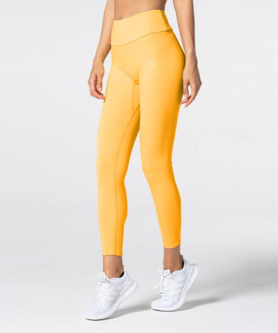 Yellow Citrus Spark™ Highwaist Leggings 1
