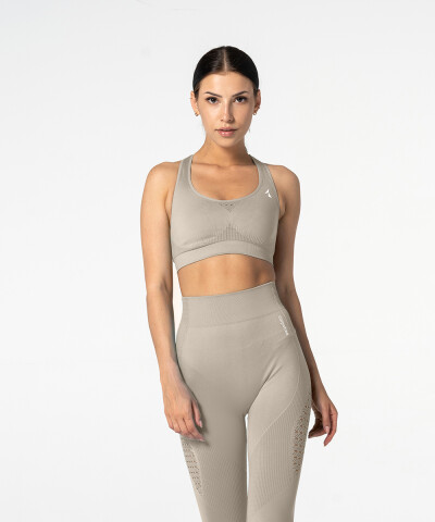Latte Phase Seamless Bra 1