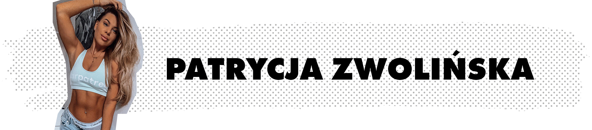 Patrycja Zwolińska - ambasadorka marki Carpatree