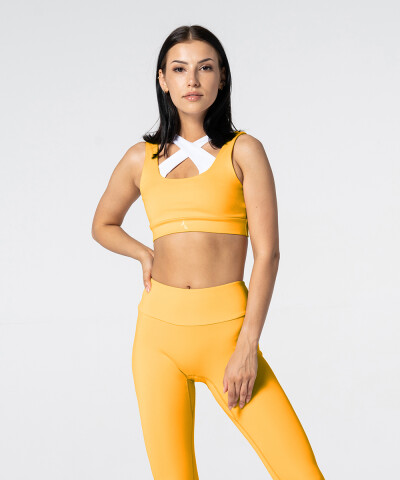 Žluto-bílá Podprsenka Spark™ Double 1