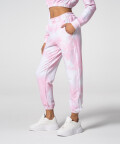 Comfortable Pink Tie Dye Juniper Sweatpants
