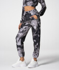 Tie Dye Juniper Sweatpants, Black