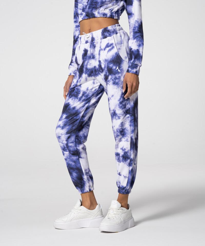 Стильные фиолетовые спортивные штаны Juniper Tie Dye