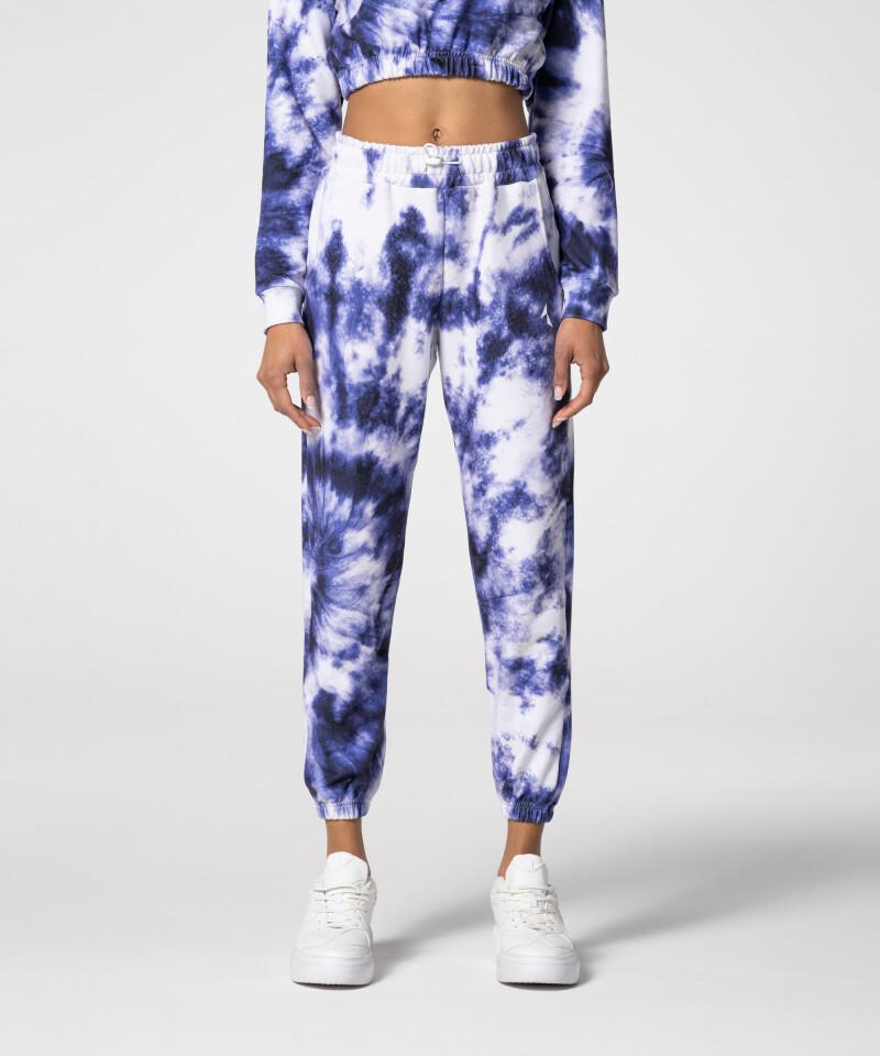 Фиолетовые спортивные штаны Juniper Tie Dye для спортзала