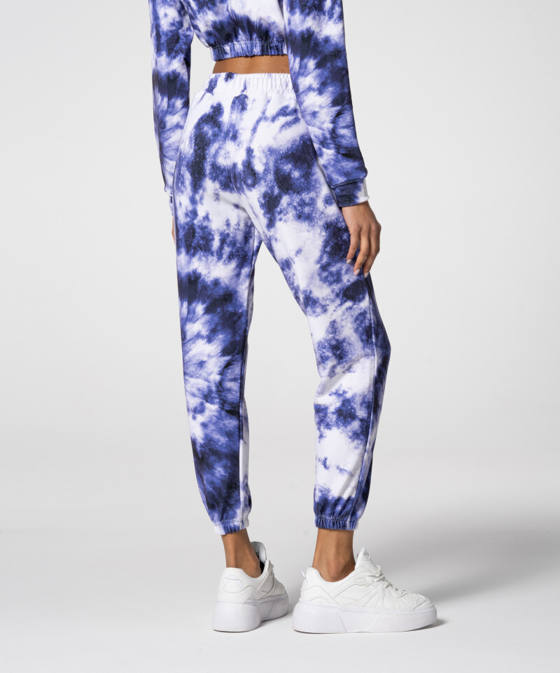 Модные фиолетовые спортивные штаны Juniper Tie Dye