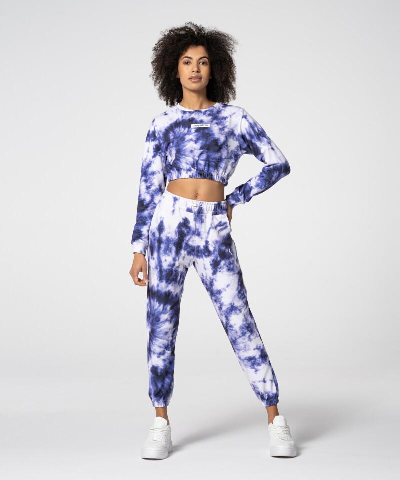 Женские фиолетовые спортивные штаны Juniper Tie Dye