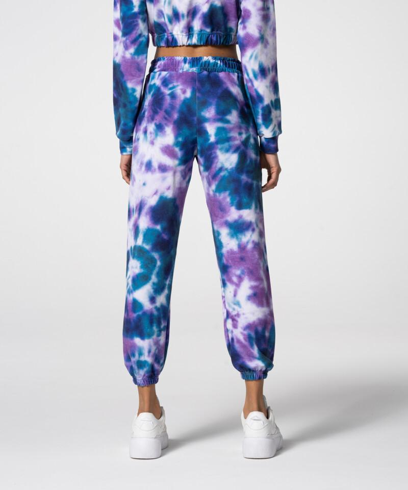Спортивные фиолетово-синие спортивные штаны Juniper Tie Dye