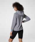Grey Melange Vibrant Hoodie