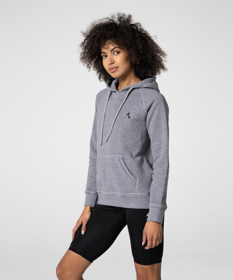 Grey Vibrant Hoodie with pocket
