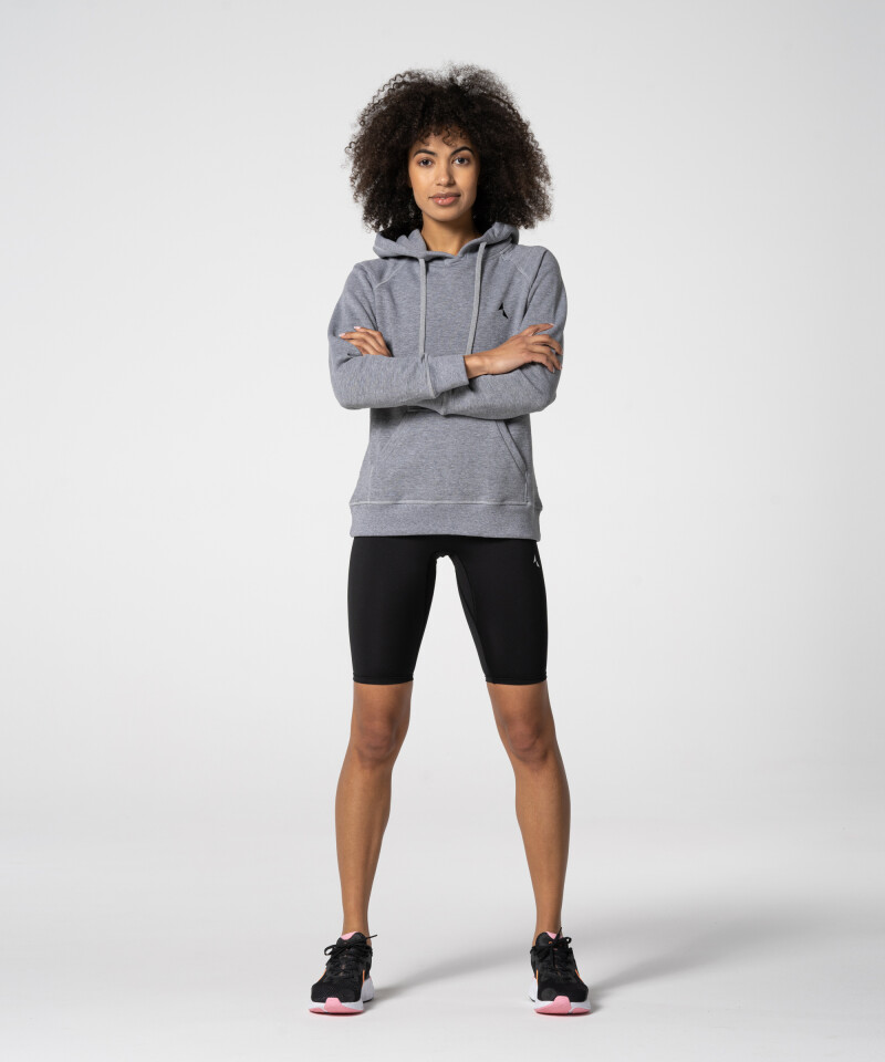 Grey Vibrant hoodie for gym