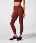Phase Seamless Leggings, Ruby