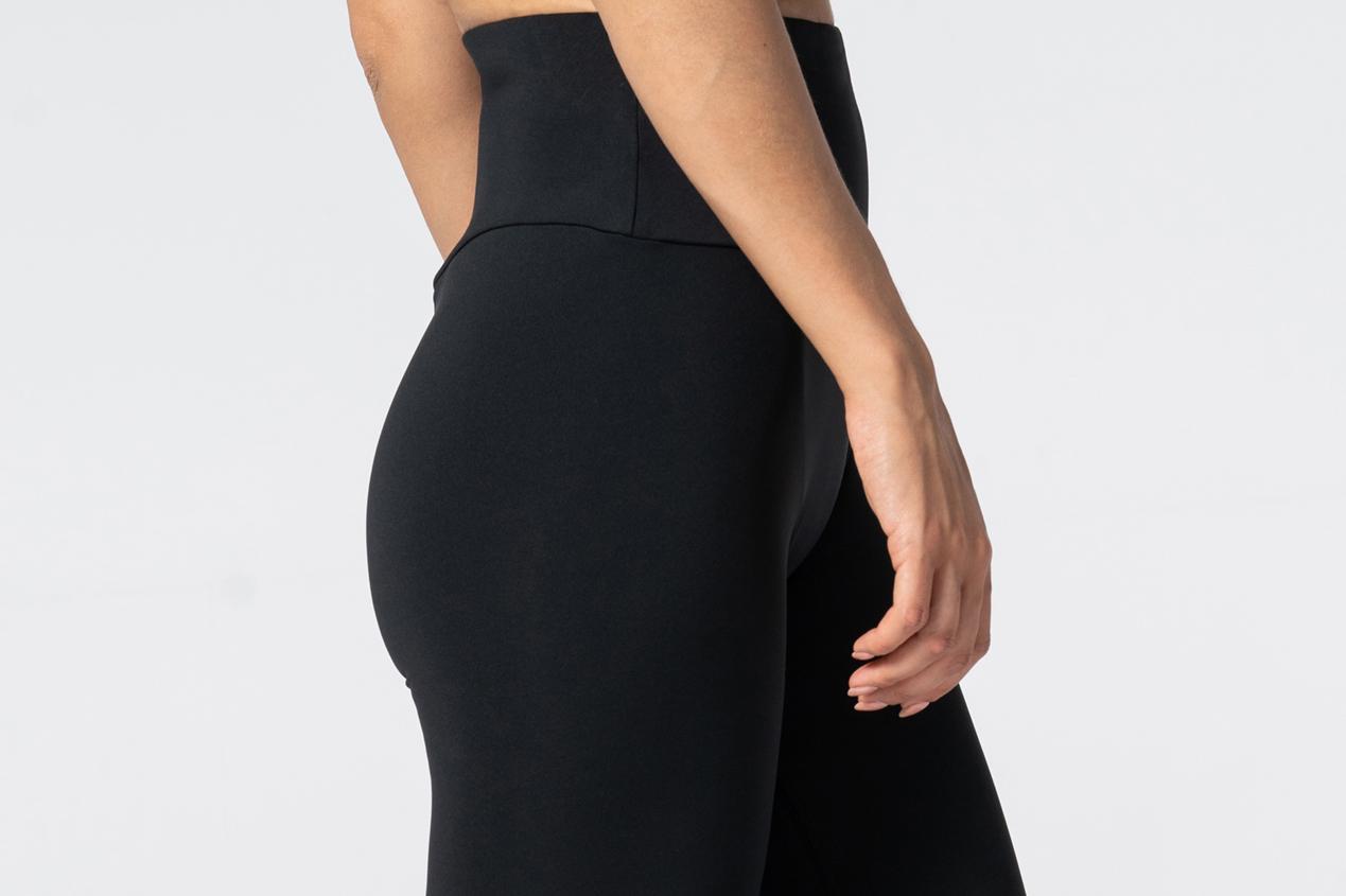modne czarne legginsy Spark Ultra Highwaist
