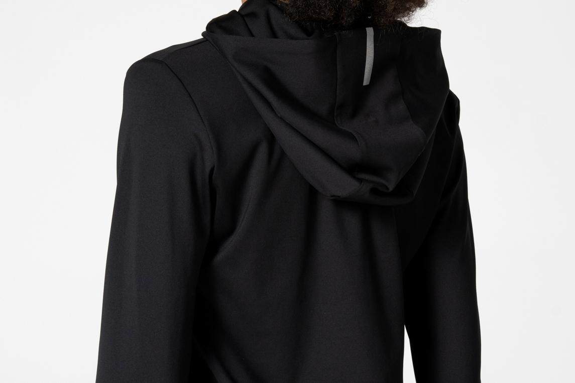 Black sweatshirt for gym