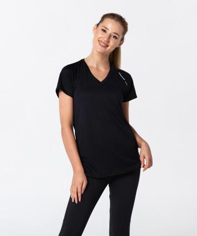 Czarna oddychająca koszulka Active