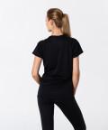 Czarna koszulka Active do biegania