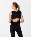 Black Top Mesh U with cut out back