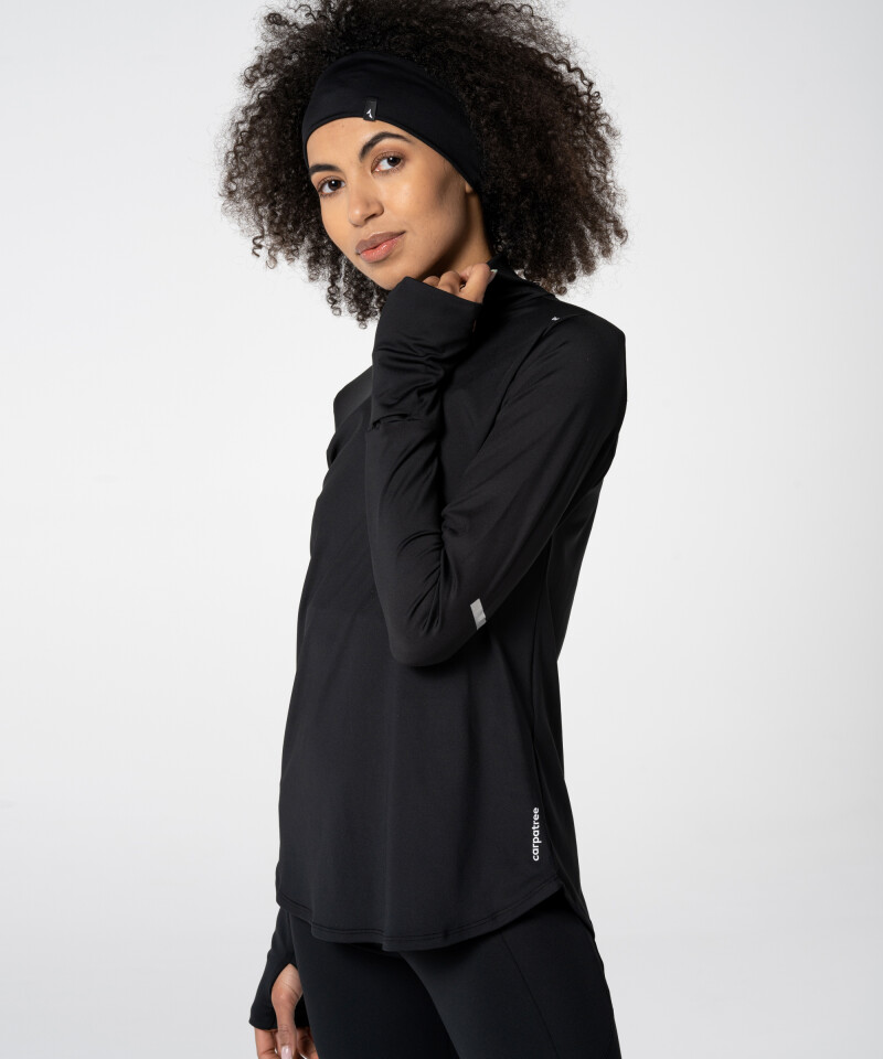 Black Carpatree Headband for runners