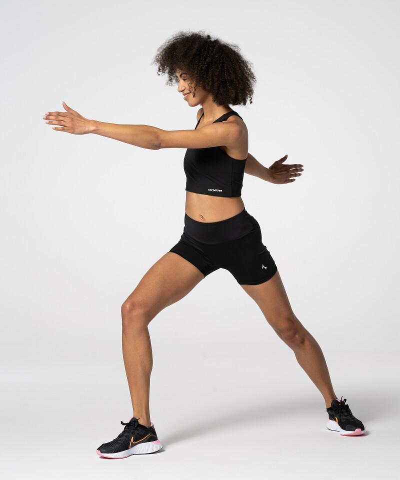 Dámské  Černé Šortky Spark™ fitness
