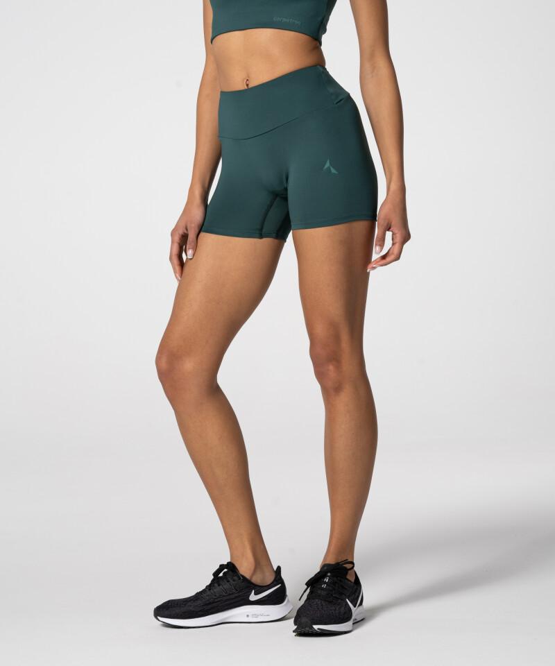 Women's Breathable Bottle Green Spark™ Shorts