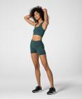 Breathable Bottle Green Gym Spark™ Shorts