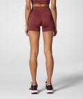 Женские бордовые шорты Spark™ для спортзала