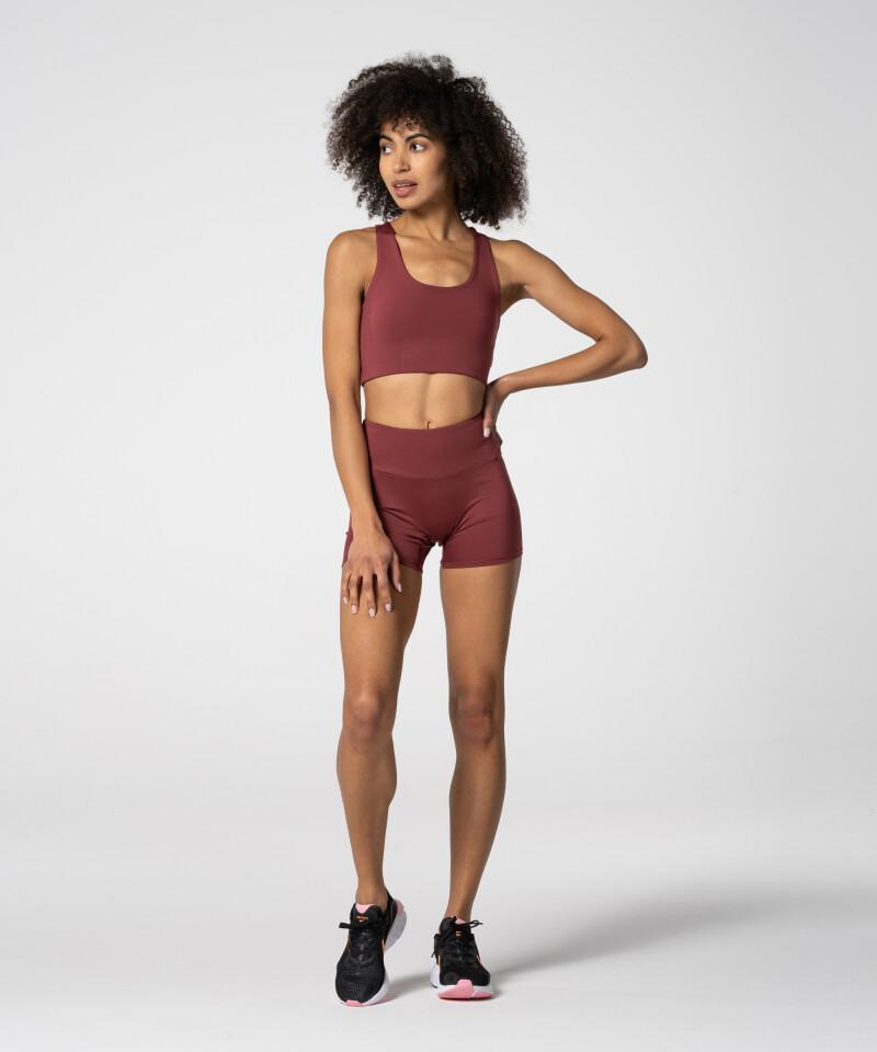 Женские модные бордовые шорты Spark™
