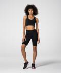 Женские черные велосипедки Spark™ для спортзала