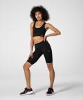 Женские черные велосипедки Spark™ для фитнеса