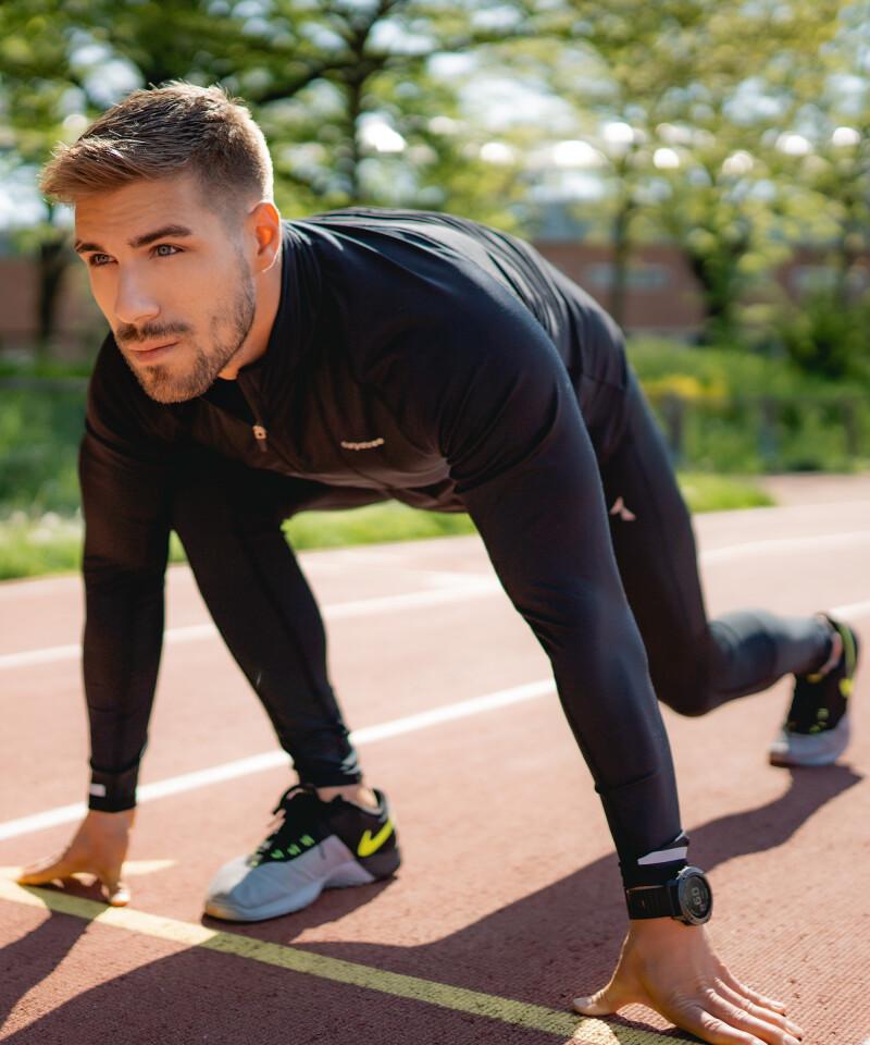 Men's Swipe Running Leggings