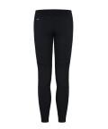 black swipe tight leggings