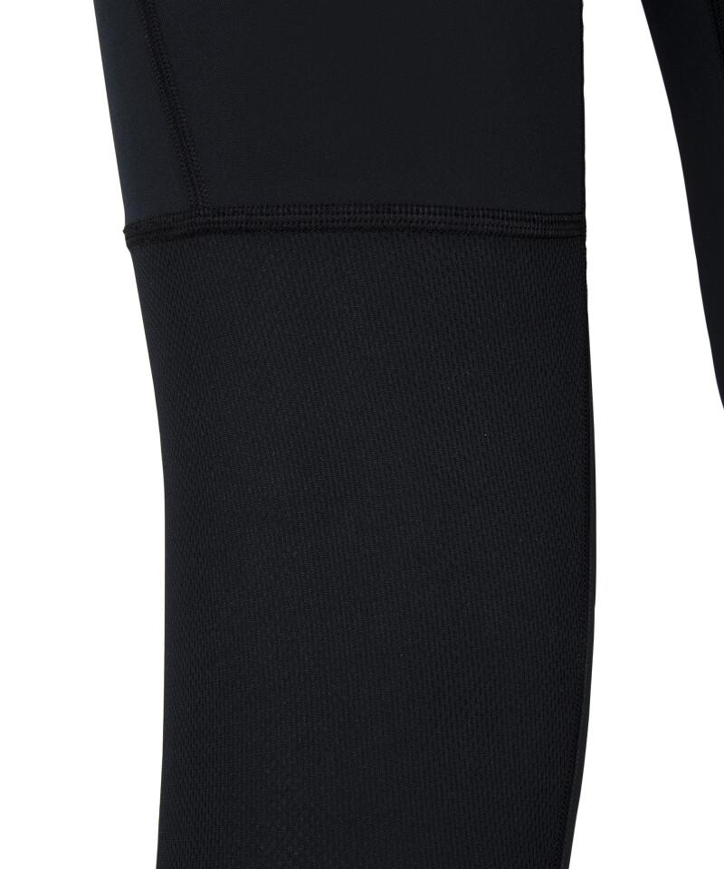 swipe leggings with mesh