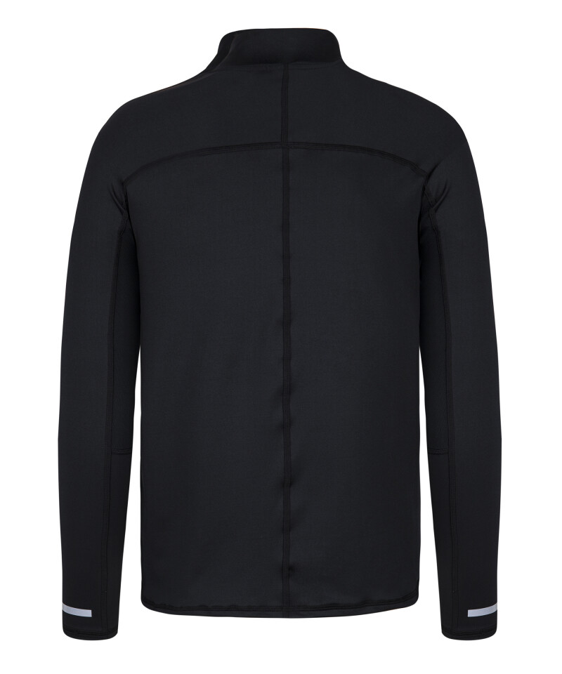 Men's running jacket with reflective elements