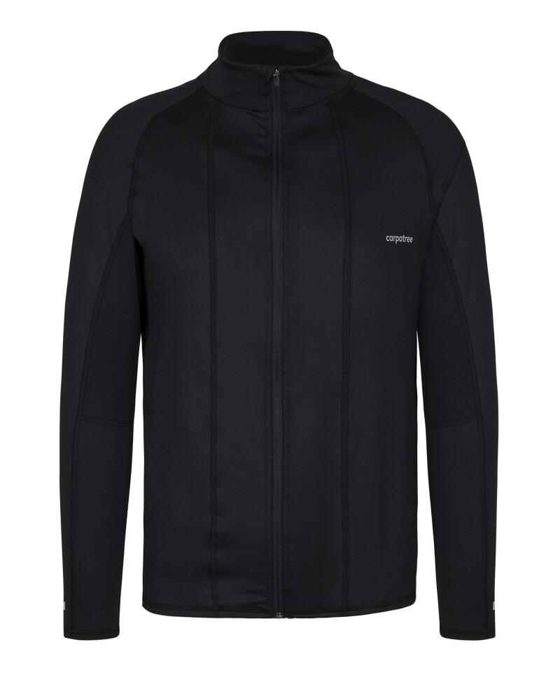 Breathable Black Men's running jacket