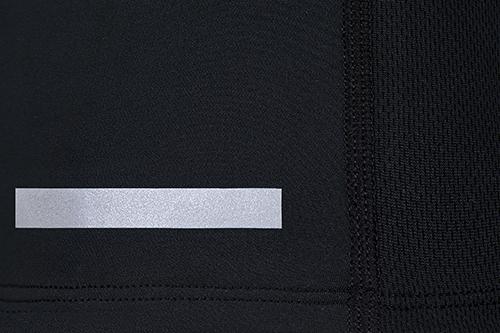 black sports running hoodie