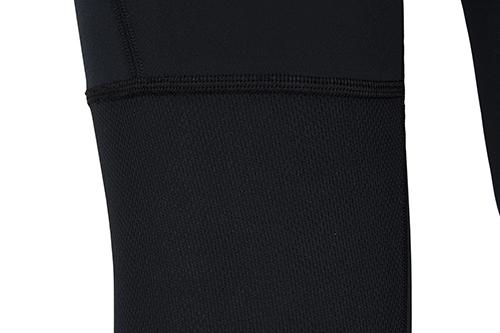 black sports running leggings