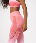 Phase Seamless Leggings, Pink & White Ombre